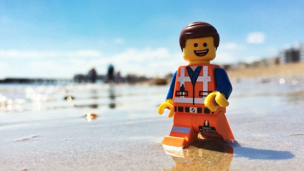 Lego has been washing up on a Cornwall beach for more than a decade (PA)