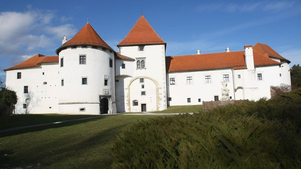 Varaždin Castle in Varaždin, Croatia