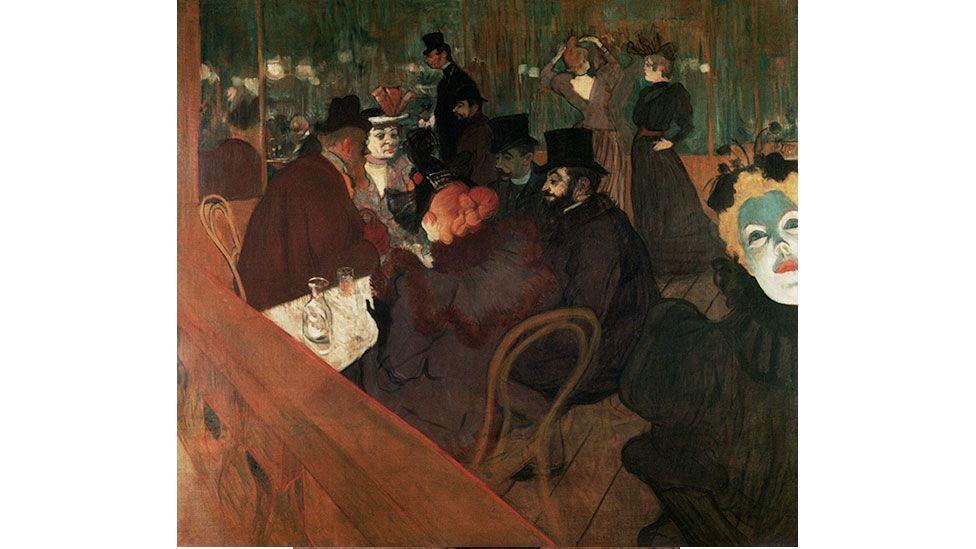 A café scene by Henri de Toulouse-Lautrec, 1894-1895 (Francis G. Mayer/Corbis)