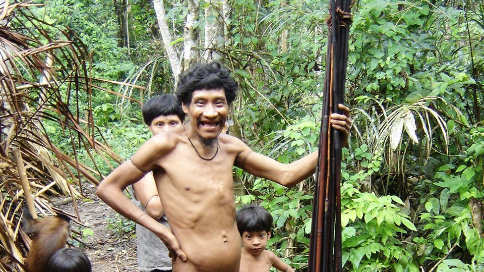 People from Brazil's Guaja tribe (Rob Walker)