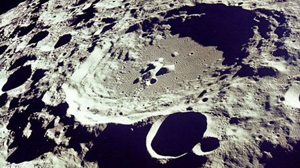 A human has not set foot on the Moon for more than 40 years (Nasa)