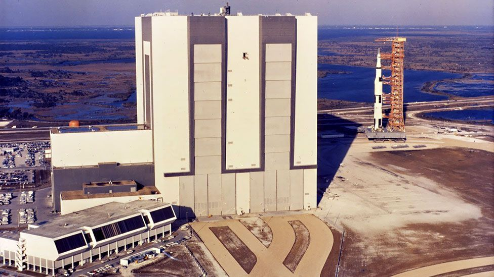 The Saturn 5 launch site at Cape Canaveral has now fallen into disrepair (Nasa)