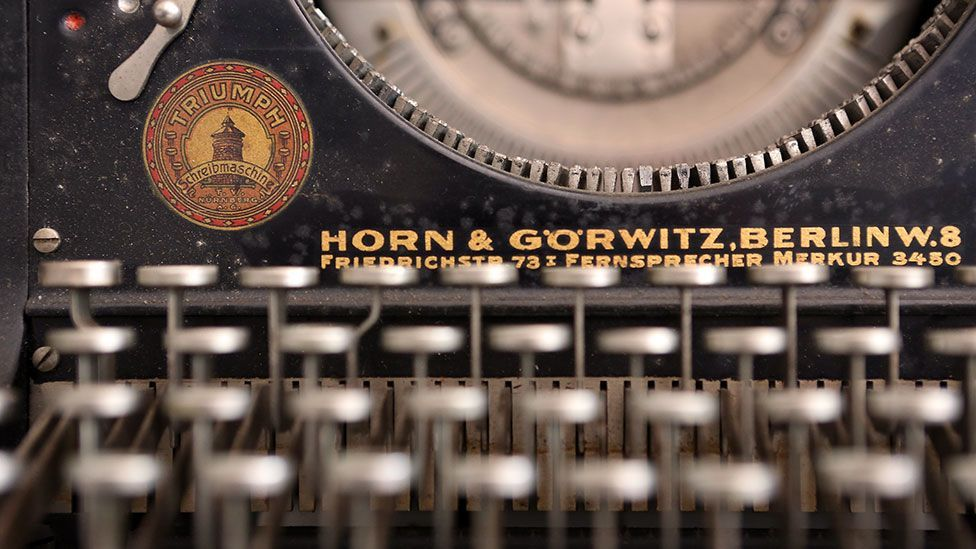German typewriter sales are higher than at any time in the past two decades (Getty Images)