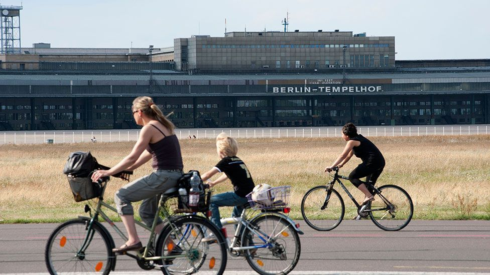 Berliners voted in a referendum in May 2014 to preserve Tempelhof's landing field as a public park (Urbanmyth / Alamy)