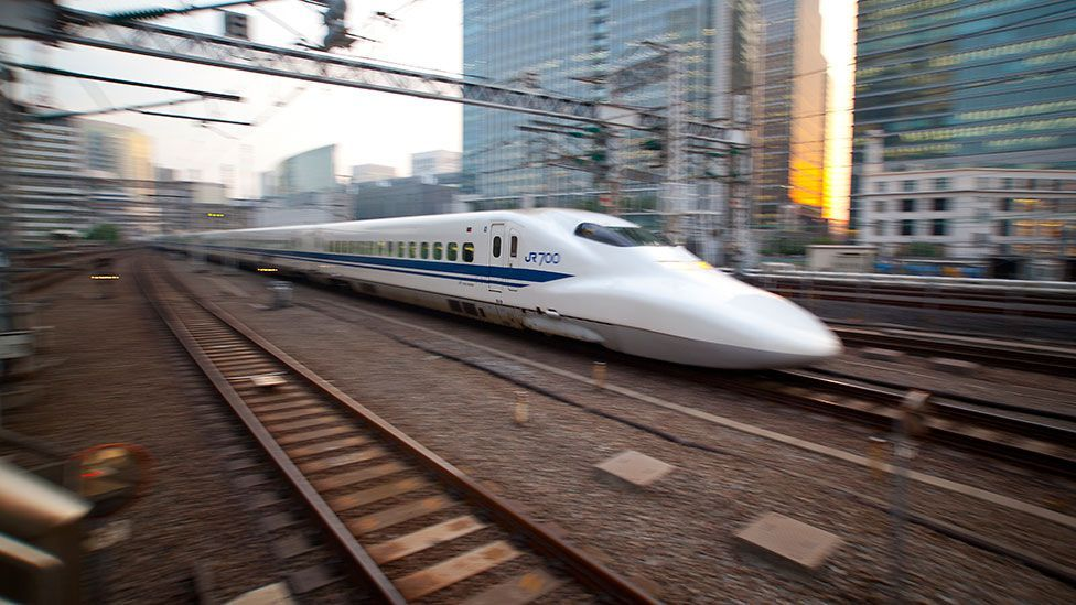 It takes a huge amount of power to make trains faster because of the resistance of dense air at ground level (Getty Images)