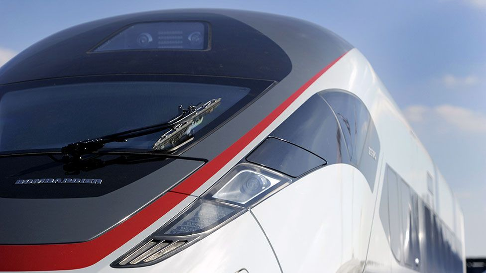 Train designers have to trade speed with the comfort of passengers (AFP/Getty Images)