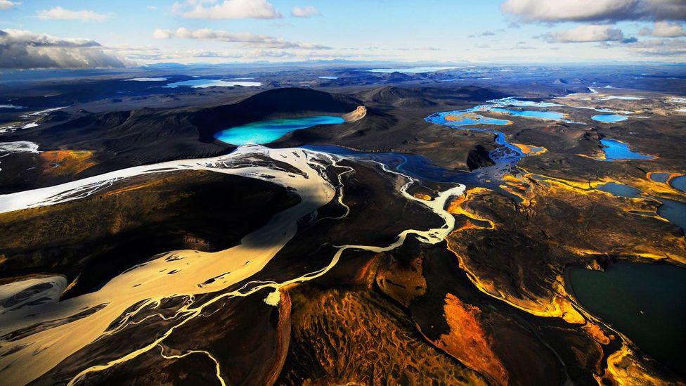 Iceland, landscape, volcano