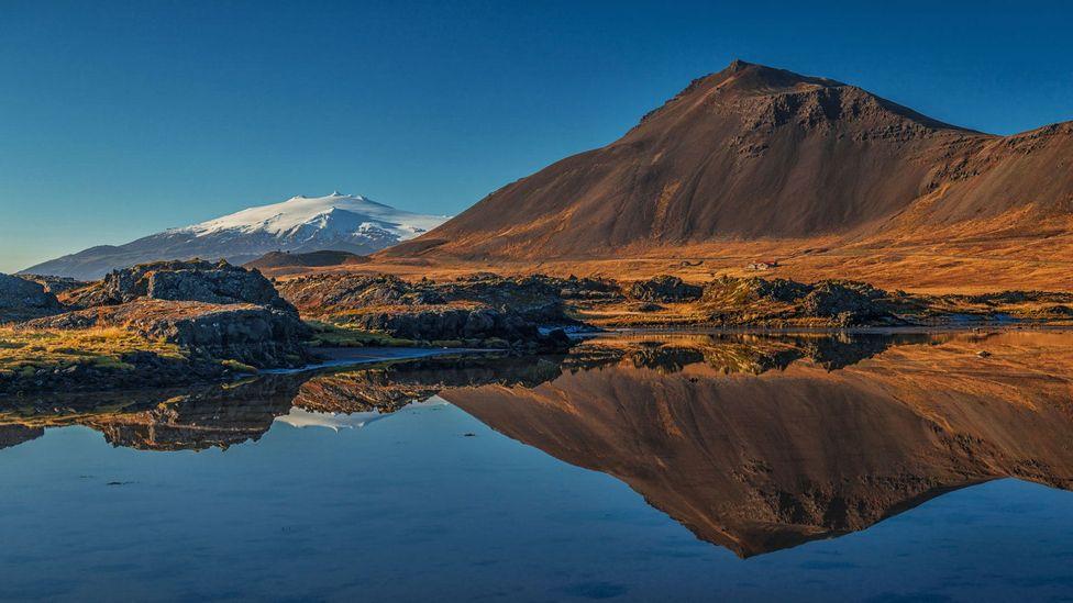 Iceland, Jules Verne, volcano,Snæfellsjökull