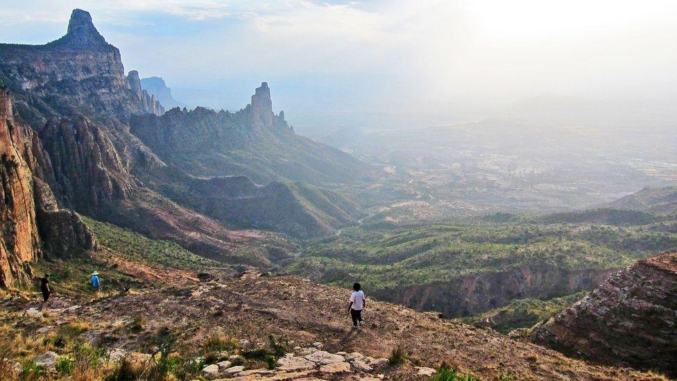 Ethiopia, Gheralta Mountains, Tigray province
