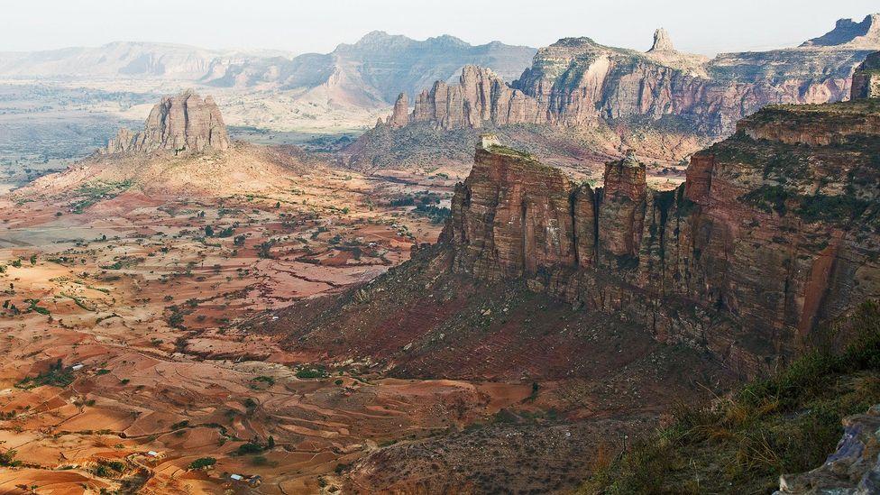 Ethiopia, Tigray Province, Gheralta mountains