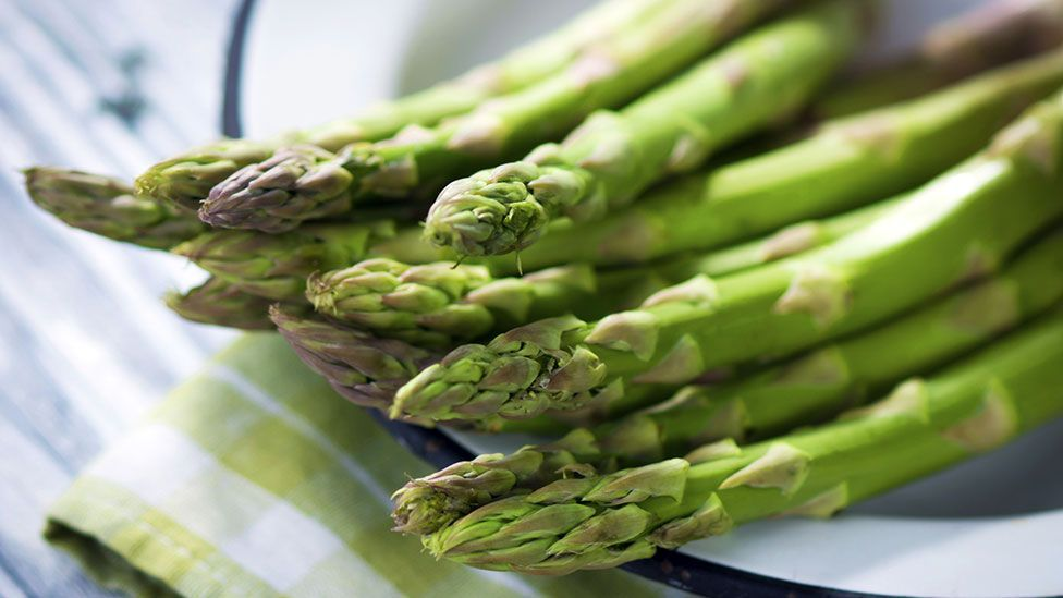 The sweet smell of excess - do we have to eat large quantities of asparagus before we can smell it in our urine? (Getty Images)
