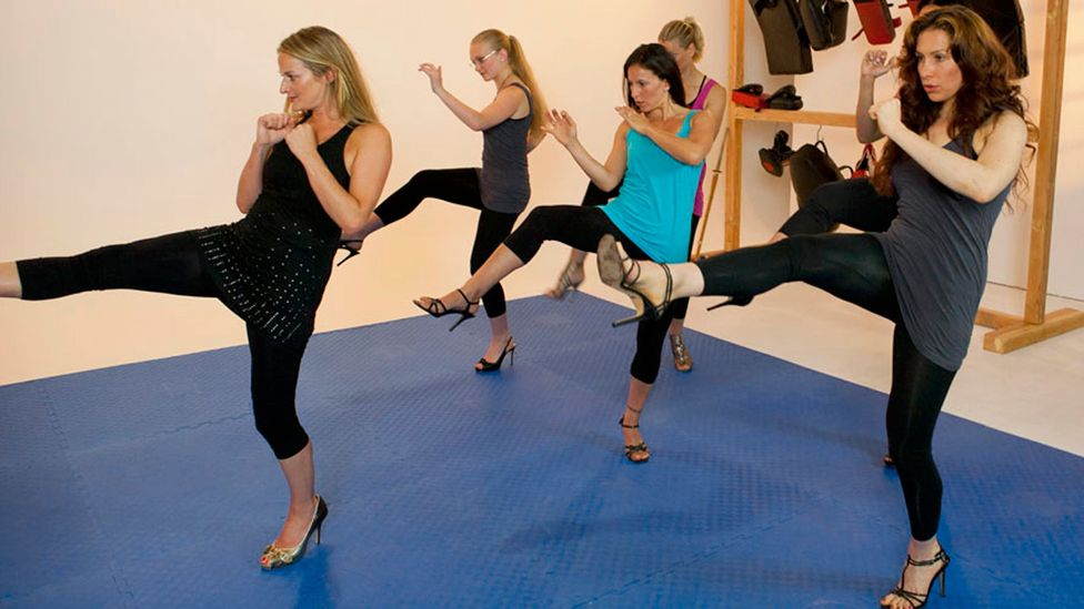 Stilettos and self defence