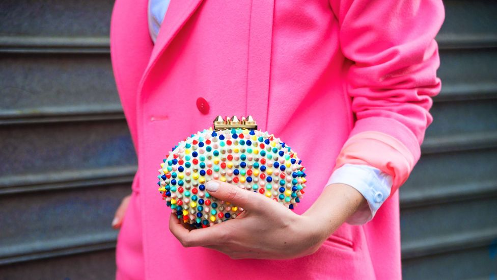 It's easier to stay on-trend with accessories that add a splash of colour. (Getty Images)