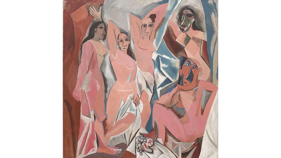 Les Demoiselles d'Avignon by Picasso (The Museum of Modern Art, New York)