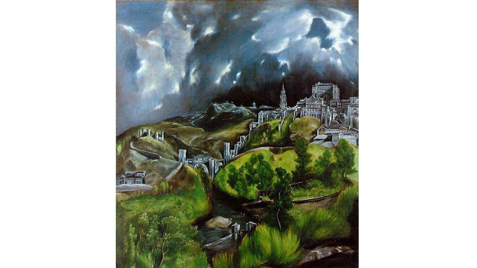 View of Toledo by El Greco (Metropolitan Museum of Art, New York)