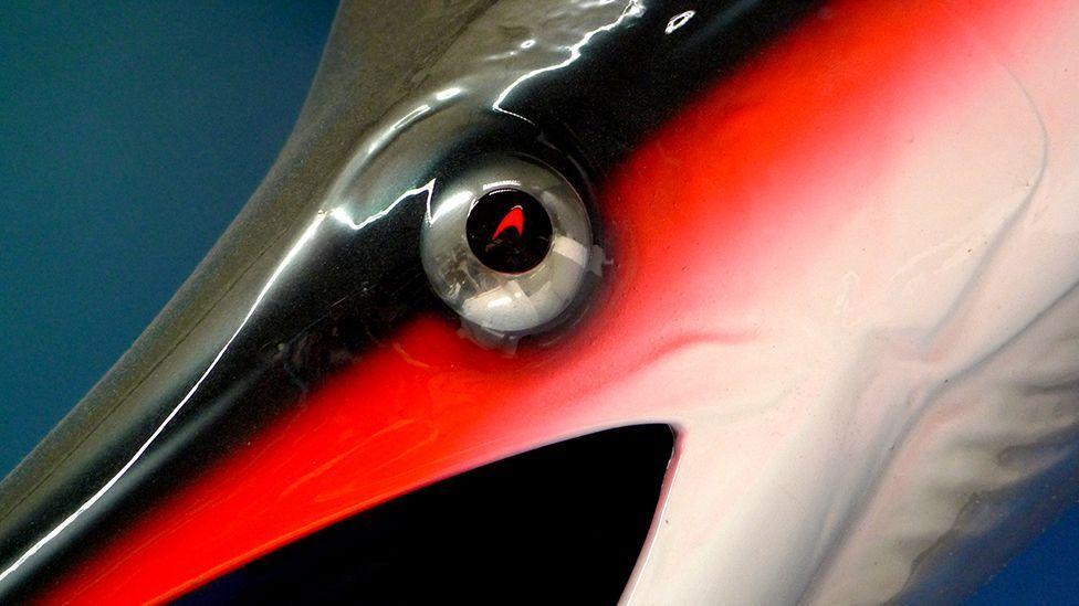 Stephenson's sailfish now has pride of place on the McLaren design studio wall (McLaren)