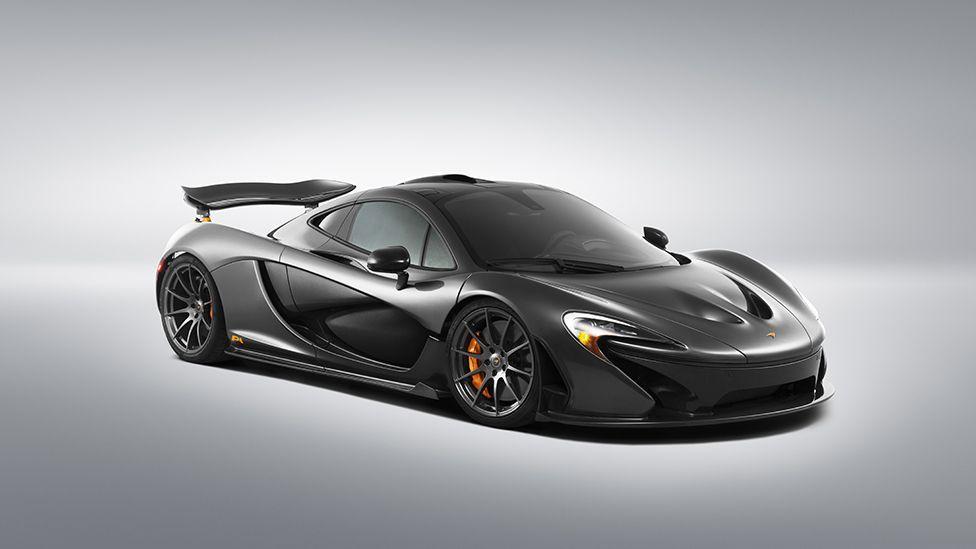 The McLaren P1 hybrid supercar uses design tricks inspired by the sailfish's skin (McLaren)