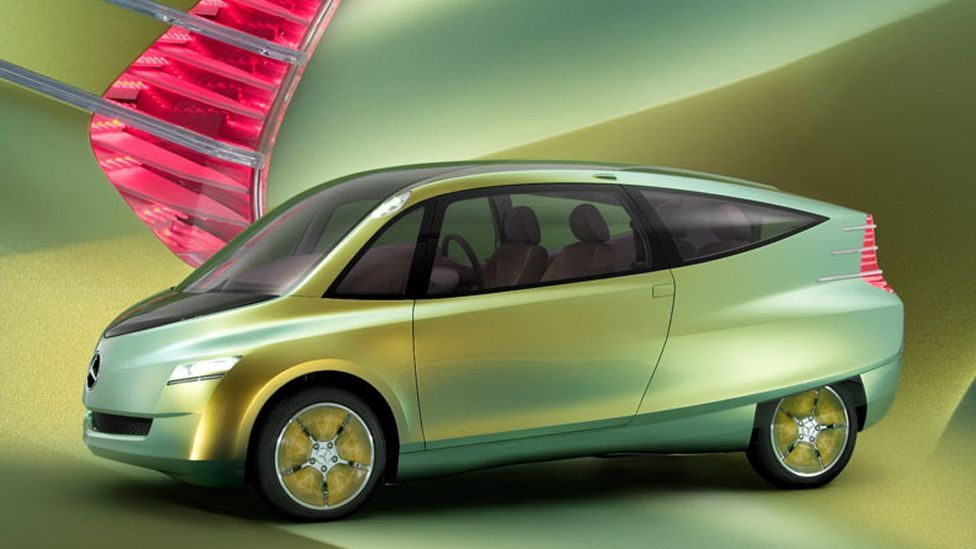 … In this case to create the shape of their new Bionic concept car (Mercedes-Benz)