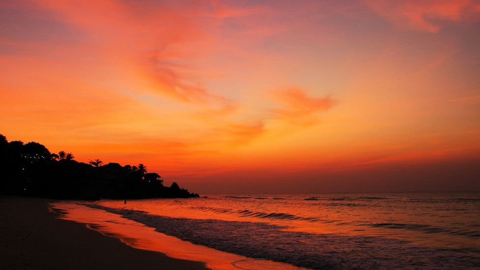 The view from the simple bungalow on Thailand's Koh Pha Ngan island that inspired it all. (Daniel Noll)