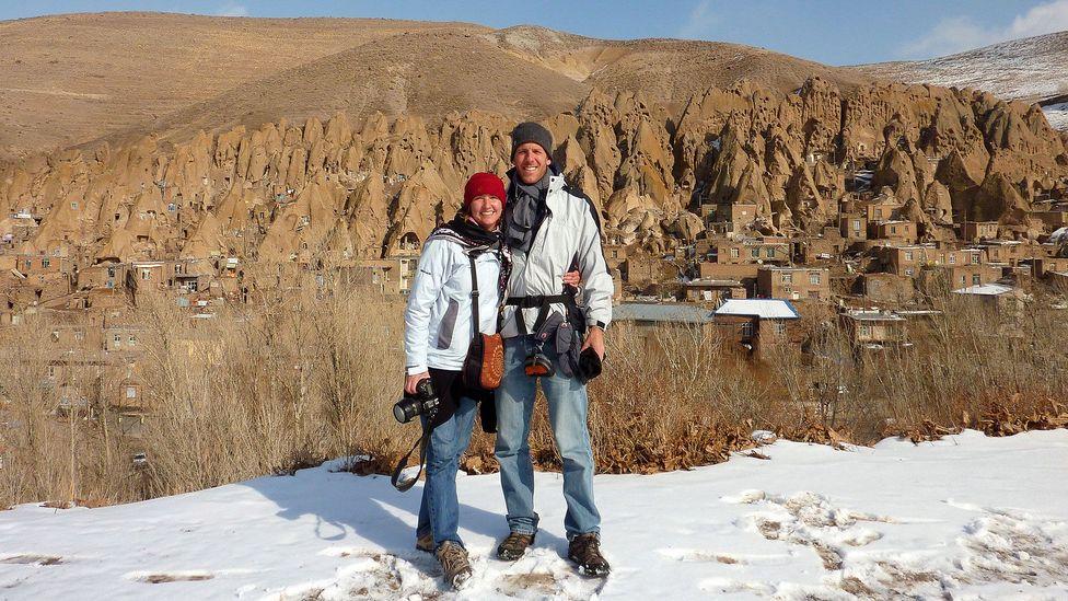 Together in Kandovan, a rock-cut village in northwestern Iran.