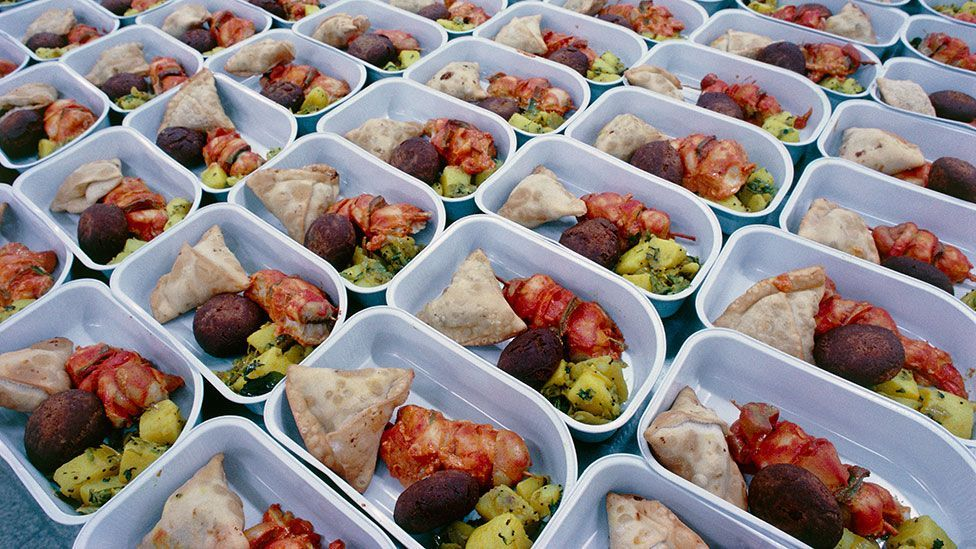 Food tastes different on planes, so in-flight meal chefs have changed their menus (Thinkstock)