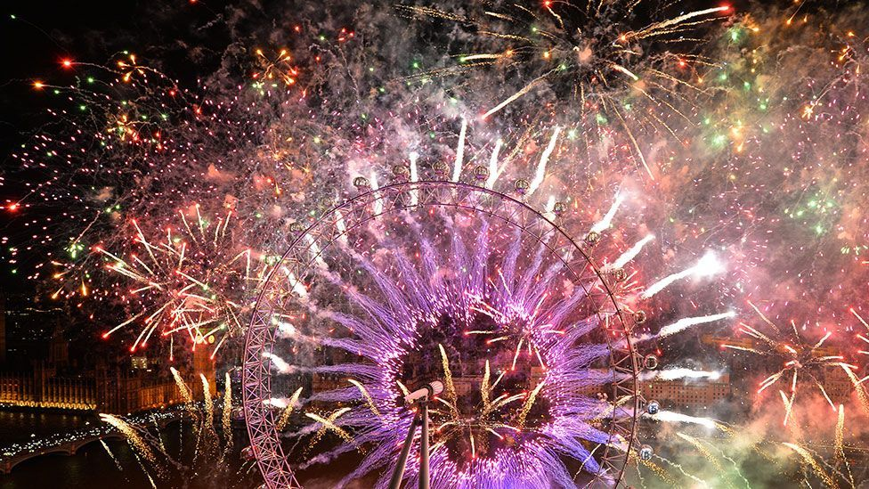 TasteTech and Bompas and Parr have also used artificial flavours in fireworks (AFP/Leon Neal)