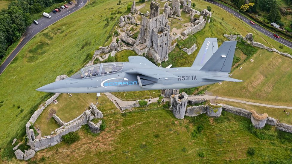 The Scorpion took only two years to go from concept to its first flight (Textron)