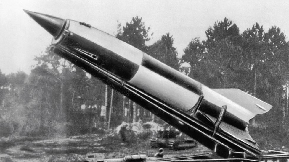The V2s were fired from mobile launchers at targets including London (SPL)