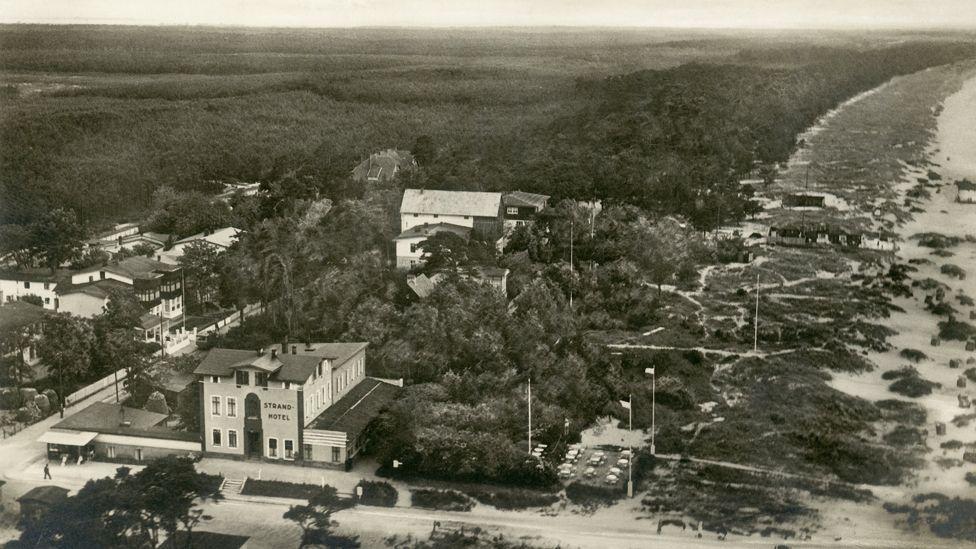 The German resort town of Peenemunde was the site of the secret V2 development programme (SPL)