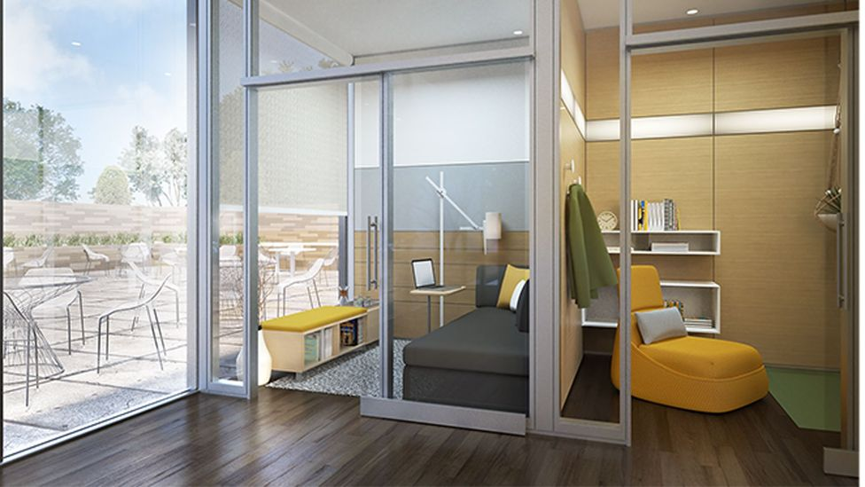 Steelcase has designed offices for introverts or those needing more privacy. (Steelcase)