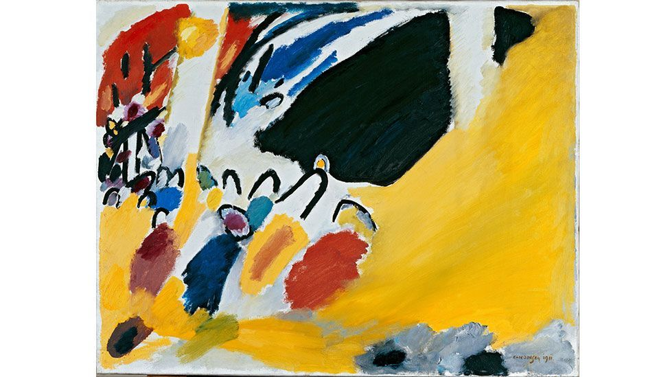 Kandinsky's work Impression III (Concert) was inspired by a Schoenberg concert (Wassily Kandinsky/Wikimedia Commons)