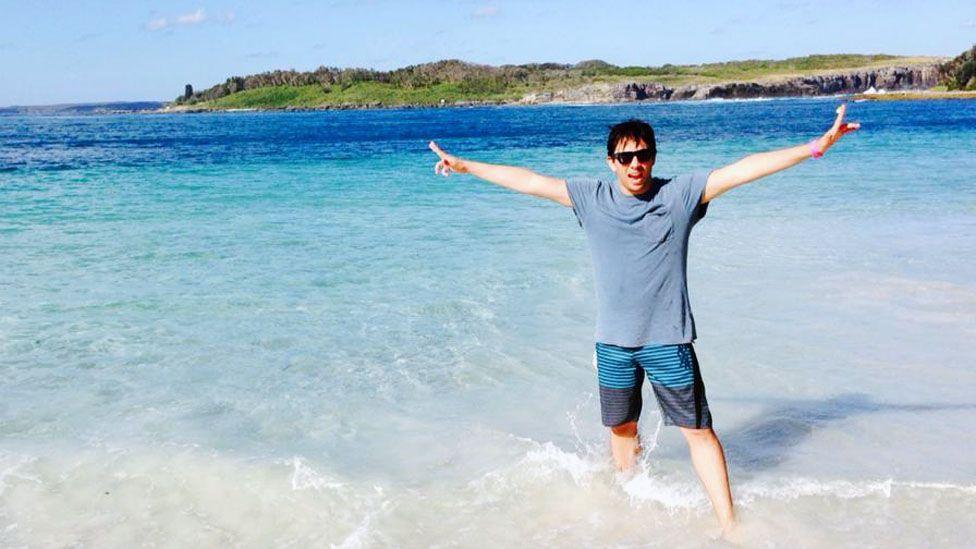 Chilean Patricio Sepulveda used a working holiday visa to transition a one-year trip to Sydney into a new life. (Patricio Sepulveda)