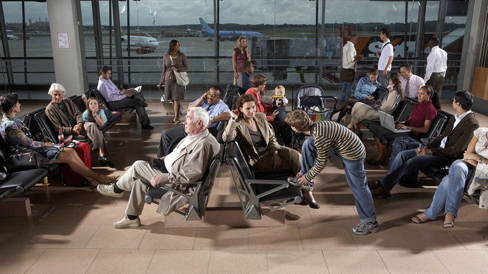 The waiting areas at airports are being quietly transformed to make boarding aircraft easier (Getty Images)