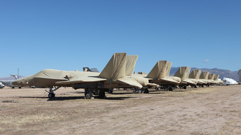 Jets like these F/A-18s may be used to provide spare parts to keep other aircraft flying (US Air Force)