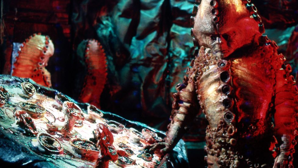 Doctor Who's adversaries the Zygons in their biological-looking spaceship; should Nasa designers be taking note? (BBC)