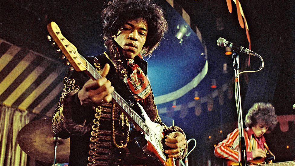 The Jimi Hendrix Experience - Jimi Hendrix at the Marquee Club, London 1967 (Marc Sharrat/REX)