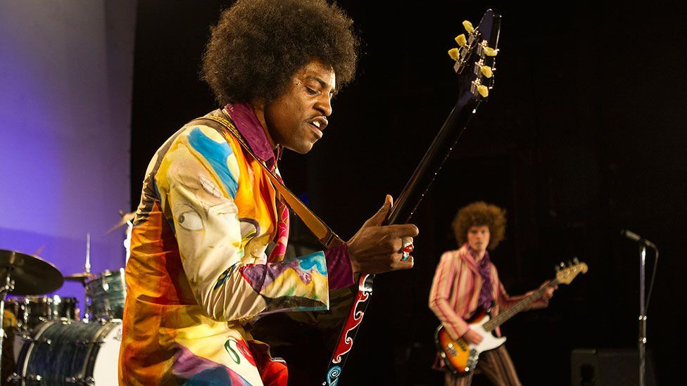 All is by My Side traces Jimi Hendrix's rise to fame (Credit: XLrator Media)