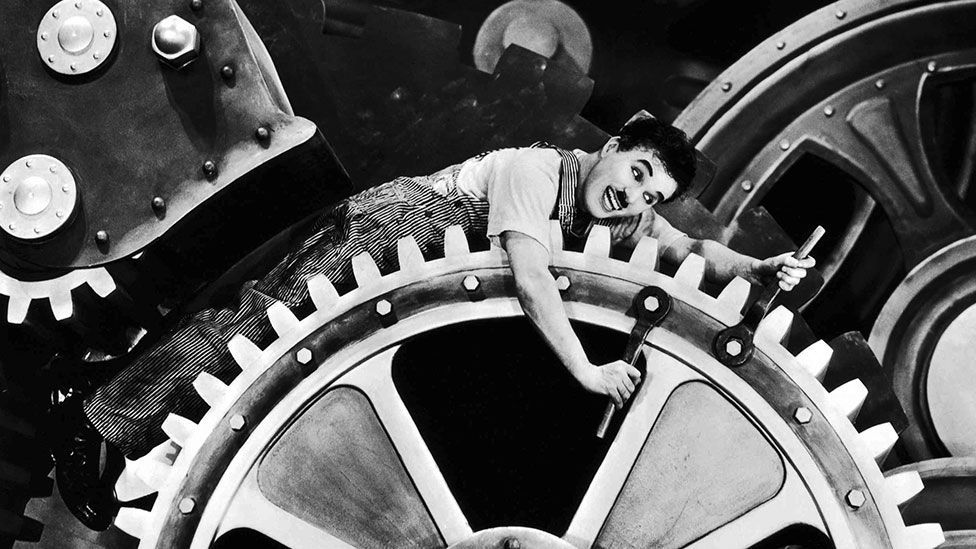 Chaplin would average a punishing 53 takes for each shot when directing The Kid (Modern Times/United Artists)