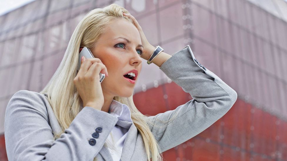 Telephone shock