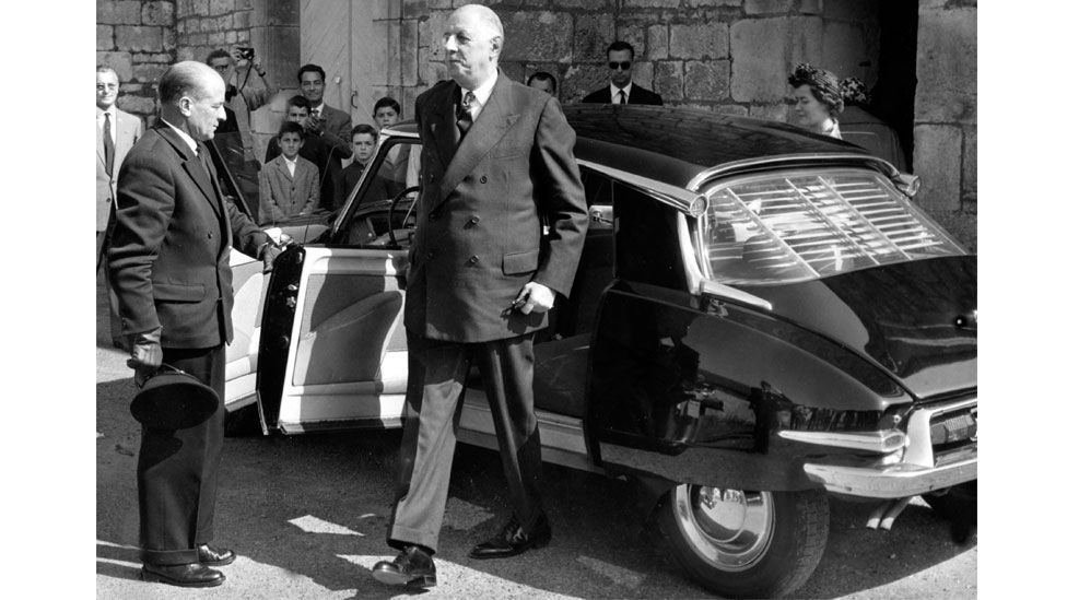 President Charles de Gaulle was one of the many famous advocates of the DS (Keystone Pictures USA / Alamy)