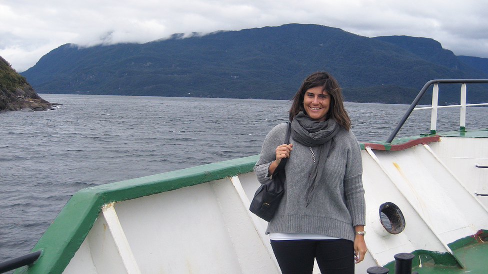 Ana Bobo visits Chile's Lakes and Volcanoes District. She moved from Spain to Chile in January. (Ana Bobo)