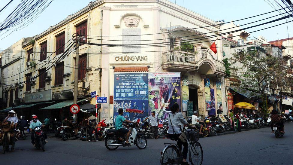 Hanoi's old quarter. (Hoang Dinh Nam/Getty)
