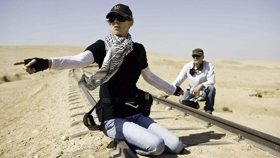 Kathryn Bigelow became the first woman to win a best director Oscar in 2010 (Everett Collection/REX)