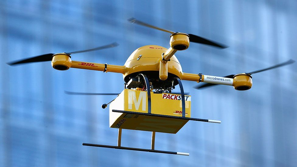 Freight companies are among the first to investigate the possible uses of civilian drones (Getty Images)