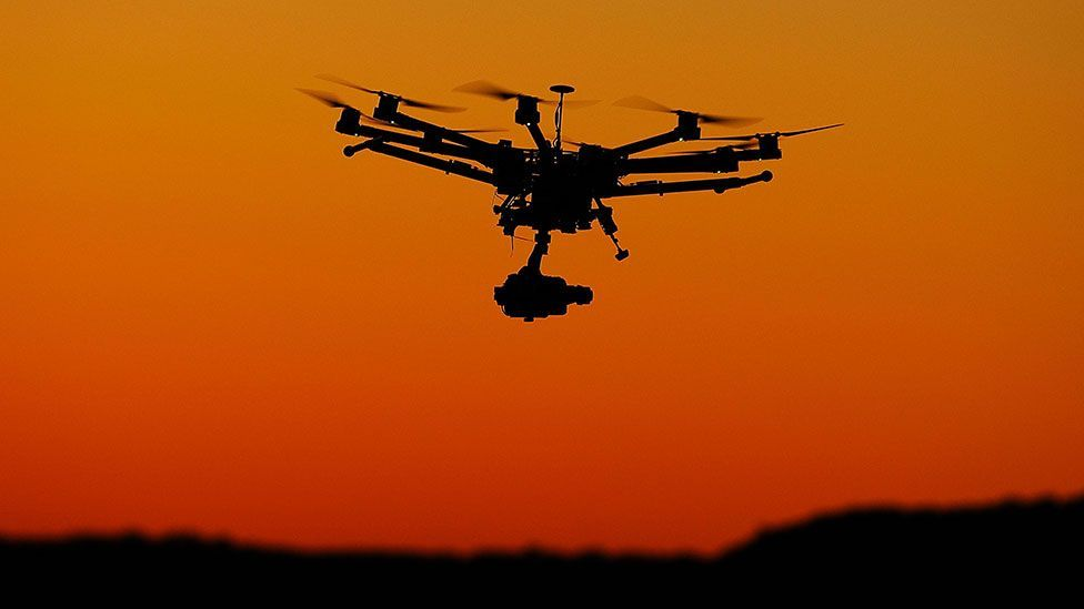 Drones are proving to be popular with photographers, allowing them to get aerial shots cheaply (Getty Images)