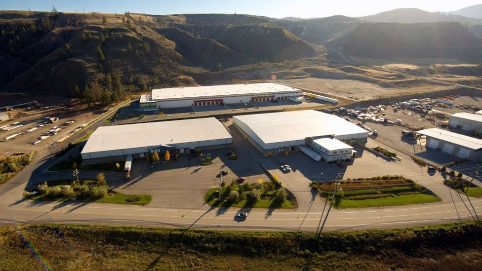 At its core, NRI Distribution in Kamloops, British Columbia, about 350 km from Vancouver in Canada, is family friendly. (NRI)