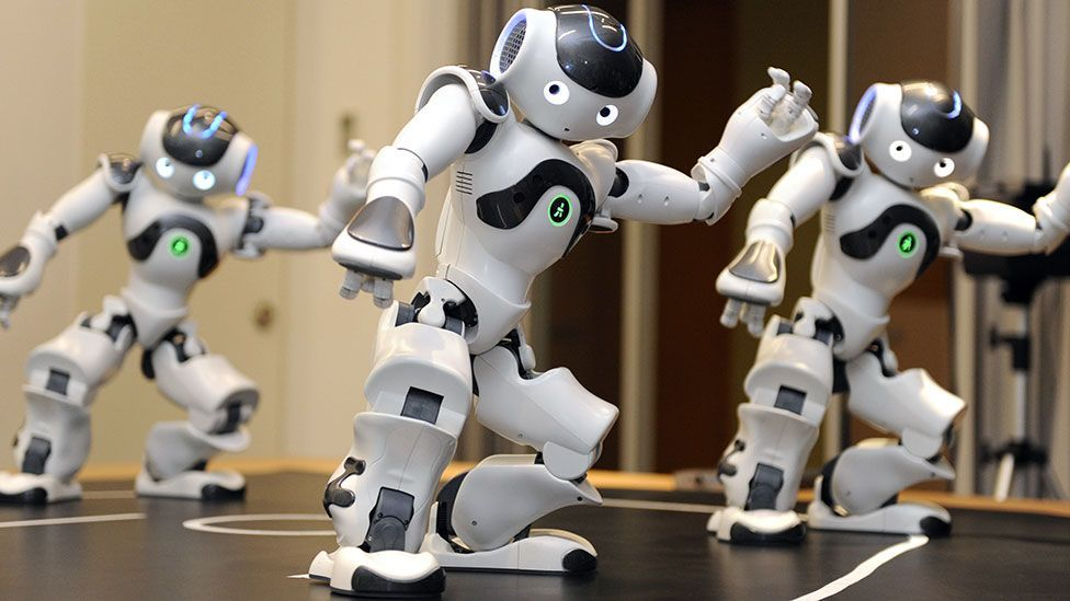 The Nao robot was designed to be the size of a teddy bear (Yoshikazu Tsuno/AFP/Getty Images)