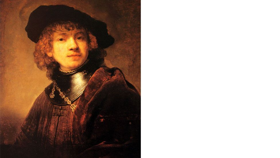 Rembrandt's Self Portrait as a Young Man, 1634 (Wide Eye Pictures/Alamy)