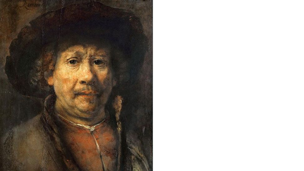 Rembrandt's Self-Portrait from 1655 (Wikipedia)