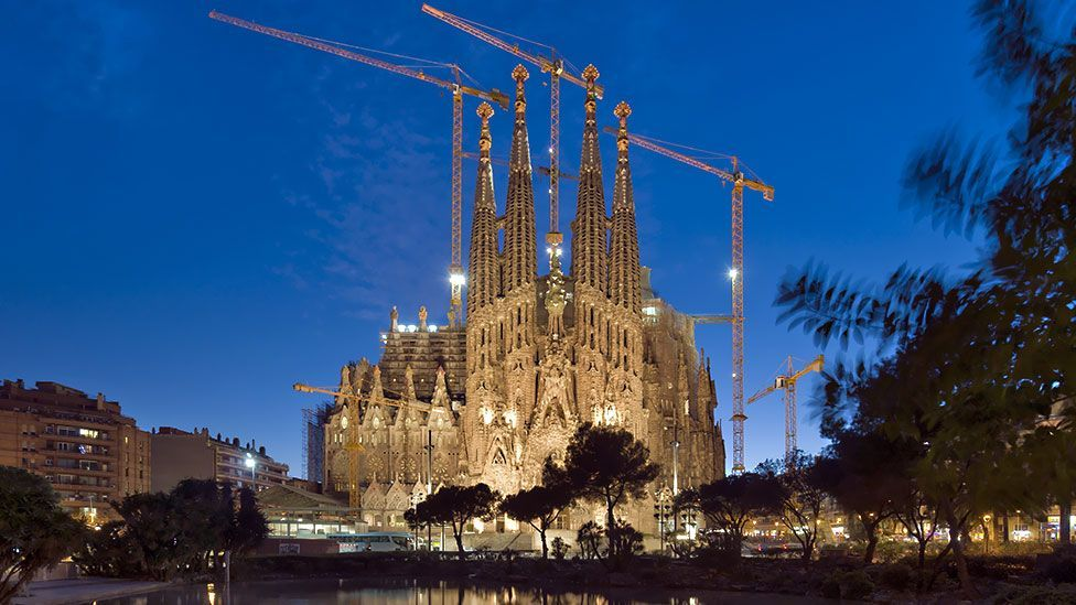 Gaudi developed a radical architecture that was before its time (Getty)